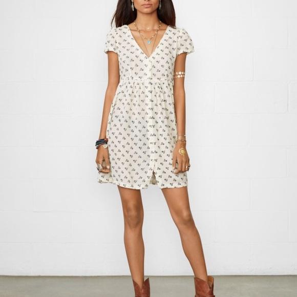 ff20c2e3f Denim   Supply Ralph Lauren Dresses   Skirts - Denim   Supply Ralph Lauren  Floral Babydoll